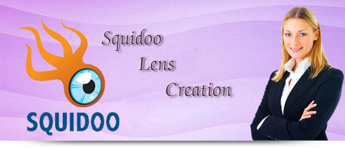 Squidoo Lens Creation
