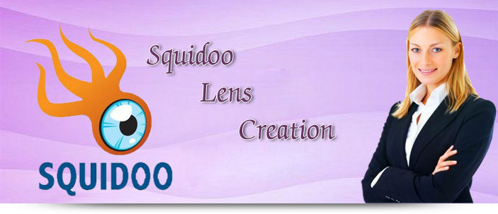 Squidoo Lens Creation